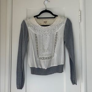 Free People Victorian Sweater